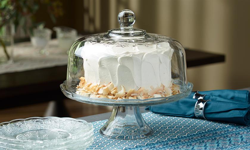 & Domed Cake Plate/Punch Bowl Set - Fantasia®